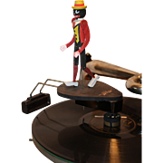 Ragtime Rastus Antique Record Toy Dancing Figure 1915