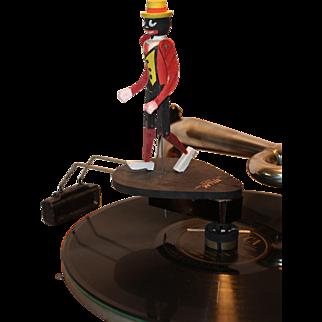 Ragtime Rastus Antique Record Toy Dancing Figure 1915