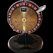 Rare Retro Roulette Wheel Desk Calendar - Perpetual