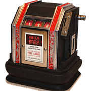 Bally Baby Slot Machine Trade Stimulator 1936