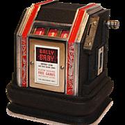 Bally Baby Slot Machine Trade Stimulator 1936