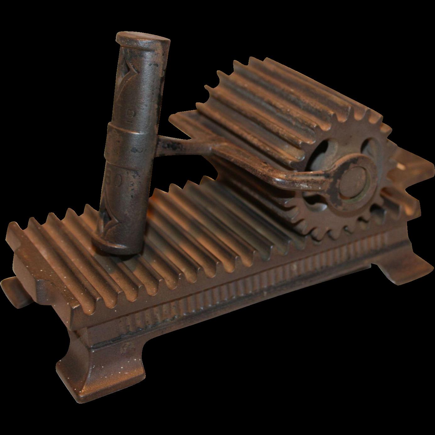 1880 Shepard Hardware Hand Fluter Sad Iron, Buffalo N.Y.