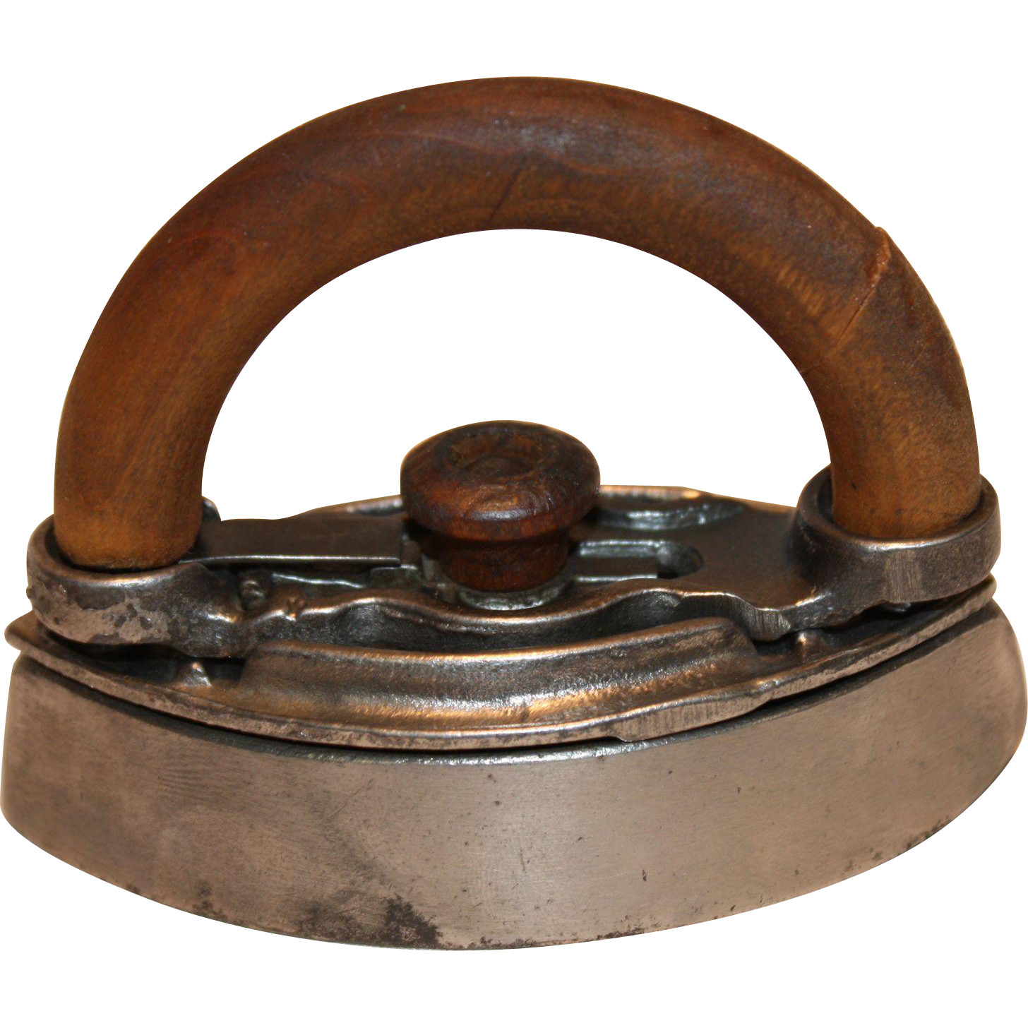 """Small Sad Iron 3 3/4"""" long  1800-1900's  Mary Potts's Style"""