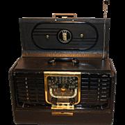 Vintage Zenith Transoceanic G500 Wave Magnet Short Wave Tube Radio Excellent