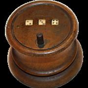 Tavern Toy Dice Game C. Liebrich Lock Co. 1858