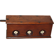 Antique Mechanical  Dice Game Tavern