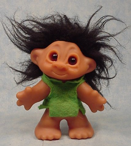 Thomas Dam Troll Little Sister  or Playmate troll