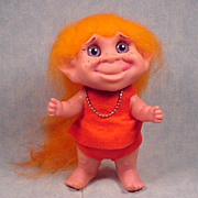 Mint Royalty Design Unusual Girl Bank Troll