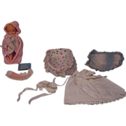 Vintage Barbie Baby Sits Baby and Accessories