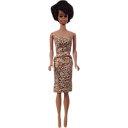 Vintage Brunette Bubble Cut Barbie