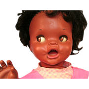 Mattel Saucy Doll African American Makes Faces