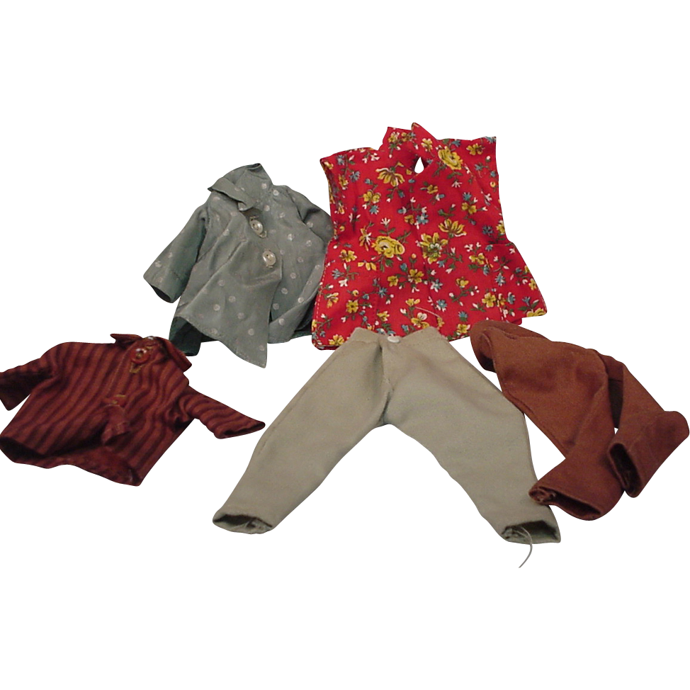 Fashion Doll Clothes Lot Shirt Tagged Ideal