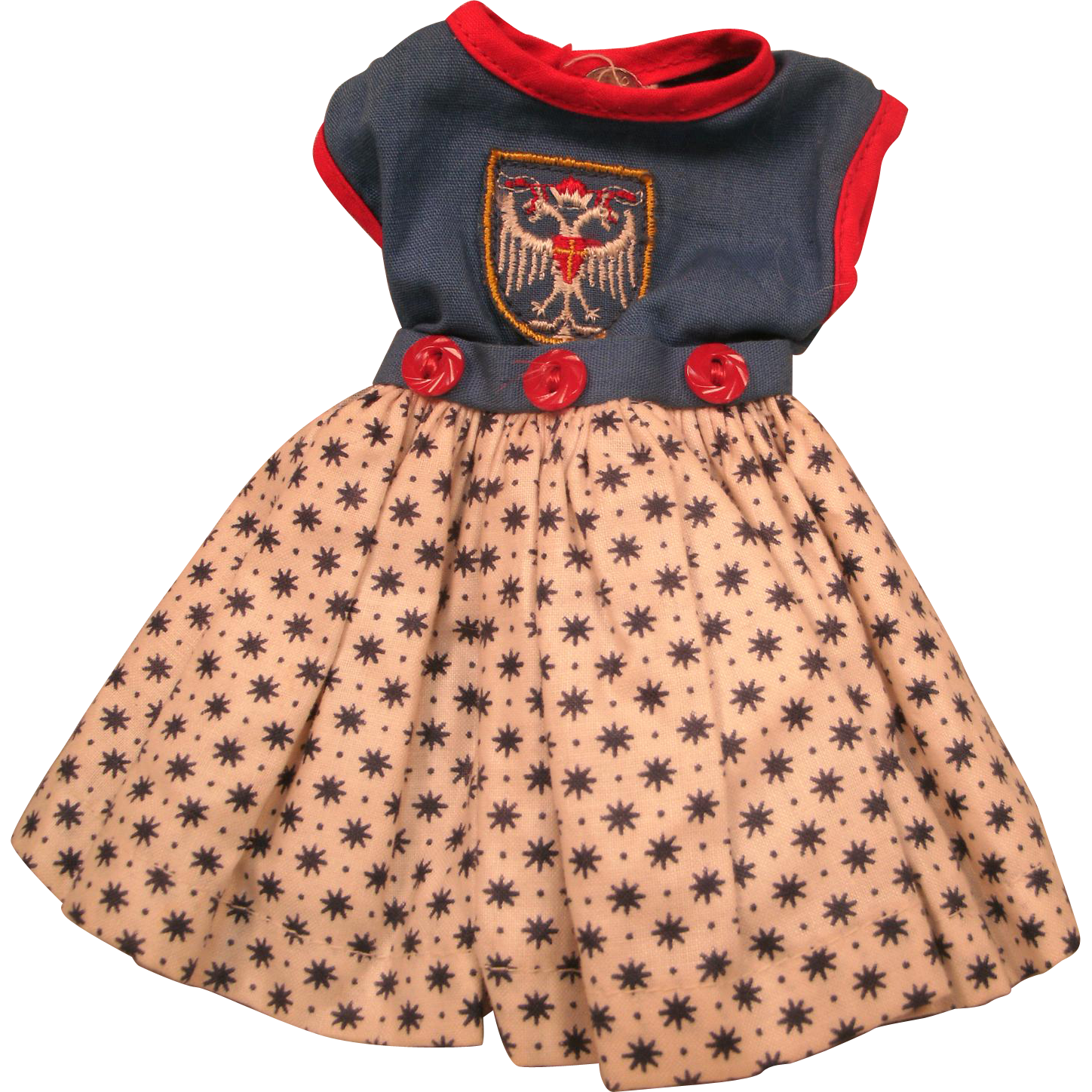 Vintage Shirley Temple Doll Outfit Clothes untagged
