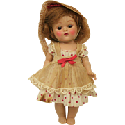 Vogue Ginny Strung Doll with Brown Eyes