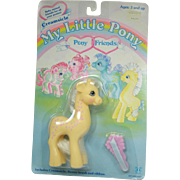 Hasbro My Little Pony Creamsicle on Original Card dated 1987