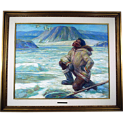 Adam Sherriff Scott Baffin Island Canadian Painting