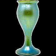 Austria Art Nouveau Loetz Iridescent Glass Vase