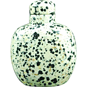 Chinese puddingstone snuff bottle  well hollowed