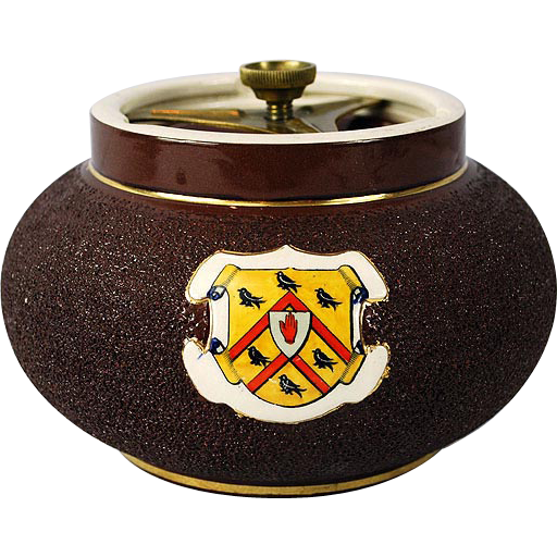 Macintyre & Co Burslem England 1900 Tobacco Jar
