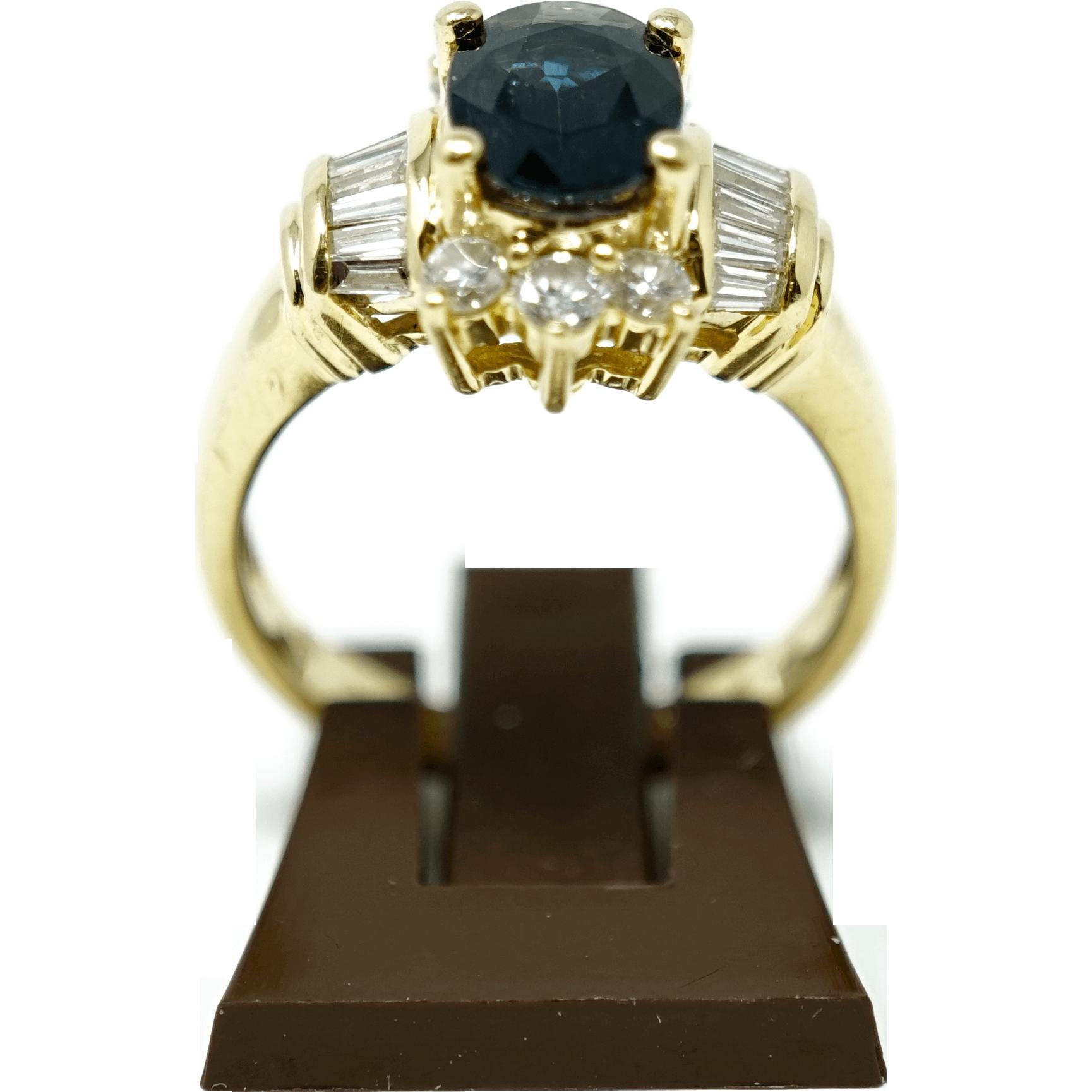 Solid yellow gold 18 karat ladies ring