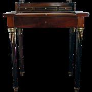Paul Sormani Paris Cuban Mahogany Small Desk with Bronze Mounts
