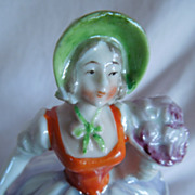 "LOVELY 5"" German Dresser Doll with Luster Detailing"
