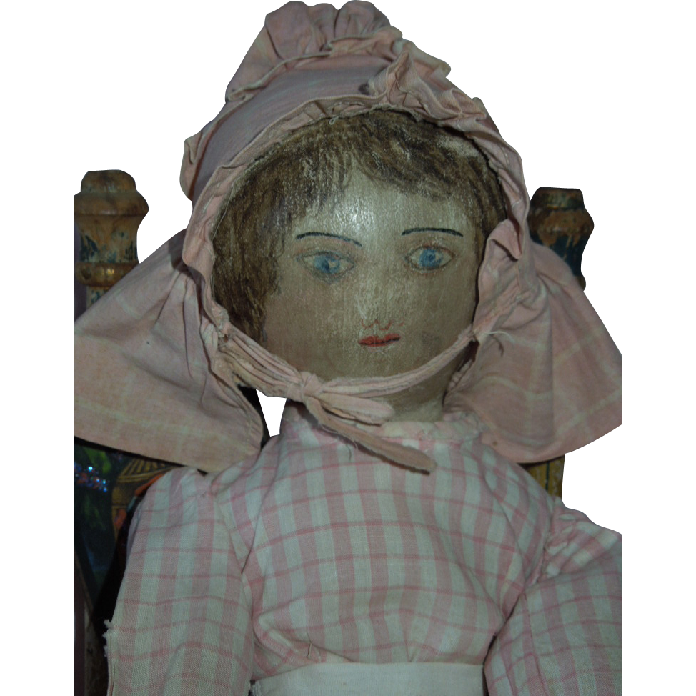 RARE and Wonderful 19th Century Presbyterian Rag Doll c.1885