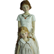 """SPECTACULAR """"Maggie Made"""" Maggie Iacono dolls """"Mother's Day""""  Set number 2 of Only 70"""