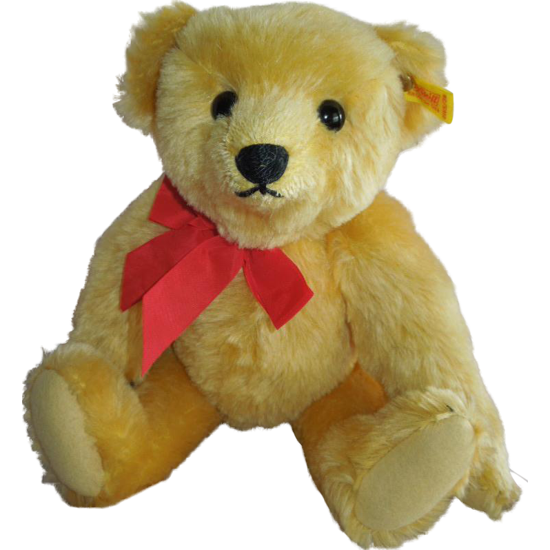 WONDERFUL 1983 Steiff Golden Original Teddy Bear 1909 Replica Bear... SWEET