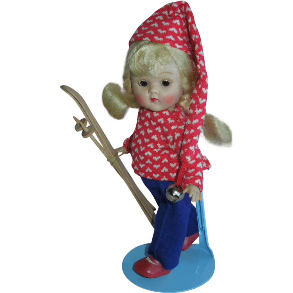 PLAYFUL 1954 Vogue Adorable PLW Ginny Skier Doll
