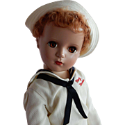 "SO RARE!!! Early 1950's Hard Plastic Madame Alexander Mary Martin from ""South Pacific"" Doll 17"" tall"