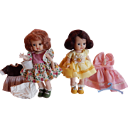 WOW Two Sweet Nancy Ann Muffie Dolls with extras