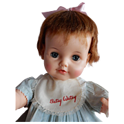 """ADORABLE 1960-61 Ideal 23"""" Betsy Wetsy Doll"""
