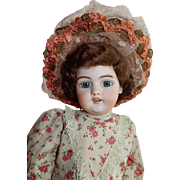 "PRETTY 23"" Simon Halbig 1079 DEP Doll Made for the French Market"