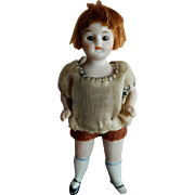"CUTE All Original 3.5"" Kling All Bisque Child"