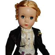 DAPPER 1950-51 Madame Alexander Rare Godey Groom Doll