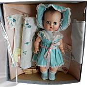 "ADORABLE 11.5"" Ideal Betsy Wetsy Never Removed From Box"