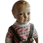 RARE: Raleigh Doll - Jessie McCutcheon Composition Boy Doll