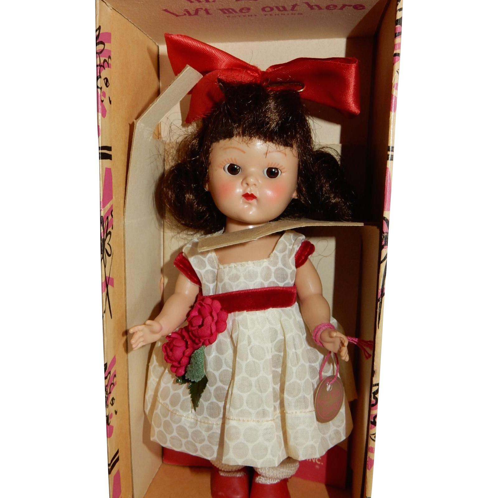 CUTE Mint in Correct Box Box 195 Vogue Ginny Doll #24 Kinder Crowd
