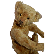 "EARLY 10"" German Mohair Teddy Bear Attributed to Steiff"