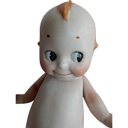 "DELIGHTFUL 1915 German All Bisque Kewpie in Rare Larger 10"" size"