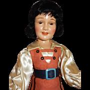 "WONDERFUL and RARE 21"" Ideal Gulliver's Travels/Deanna Durbin Doll"