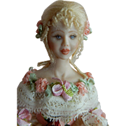 "STUNNING 1/12"" Scale Stacy Hoffman Dollhouse Doll"
