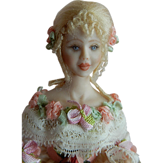 """STUNNING 1/12"""" Scale Stacy Hoffman Dollhouse Doll"""
