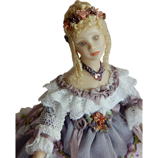 "SPECTACULAR 1/12"" scale Artist Original Dollhouse Doll"