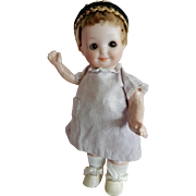 "ADORABLE. 7"" Armand Marseille 253 Nobbikid Googly Doll"