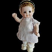 "ADORABLE. 7"" Armand Marseille 253 Nobbikid Googly Doll"