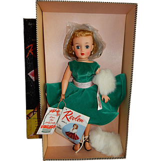 "STUNNING Never Played With 18"" Ideal Miss Revlon Doll"