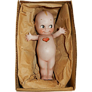 GREAT 7' German All Bisque Kewpie c.1915