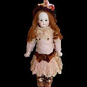 """CHARMING 14"""" German Sonneberg Belton Bisque Doll"""